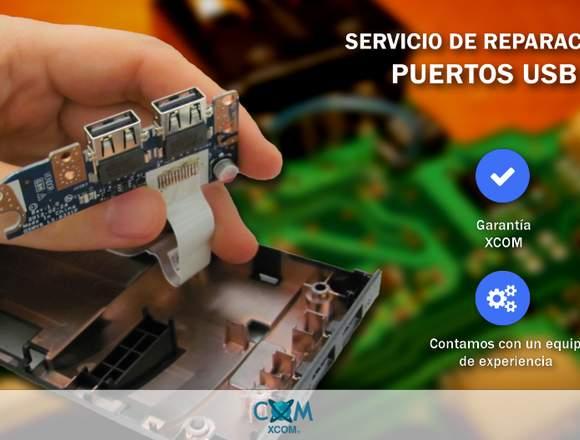 Servicio de Reparación puertos USB PC