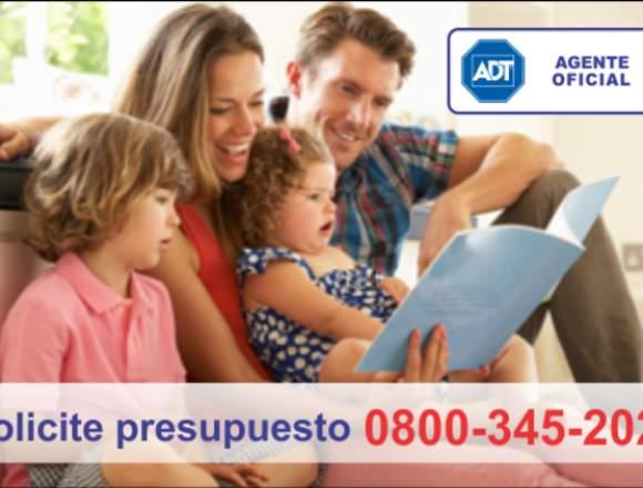 Contrata hoy mismo ADT en Río Negro 0800-345-2022
