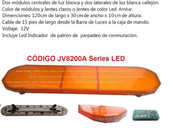 BARRA DE LUCES LED PARA AMBULANCIA Y SERENZAGO!!