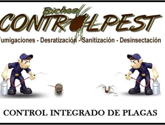 Sanitización de Baños, Controlpest