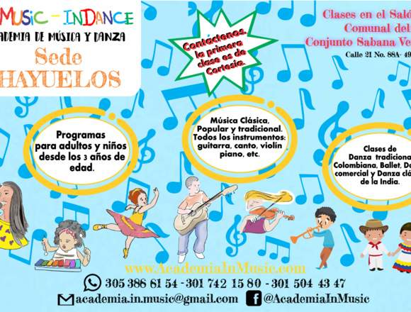 Academia de baile y aeróbicos, Hayuelos, Modelia