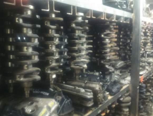 Partes, refacciones y motores reconstruidos