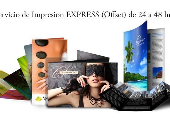 Impresión Publicitaria Servicio Express 24 a48 hrs