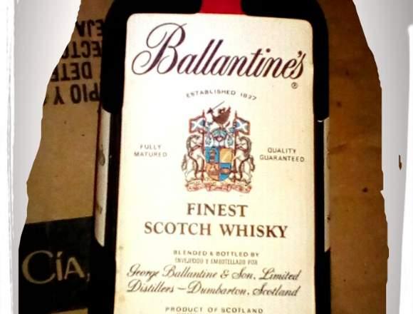 Vendo whisky etiqueta negra y otros