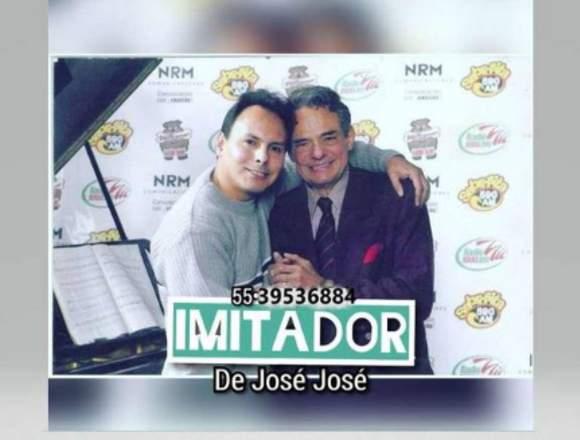 """""""EL MEJOR CANTANTE E IMITADOR DE JOSÉ JOSÉ"""""""