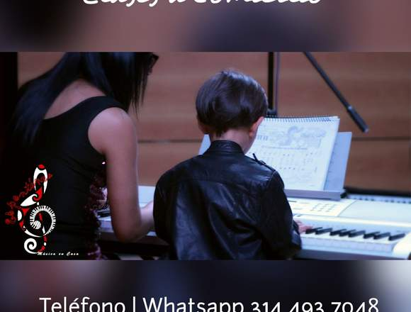 A domicilio clases de piano