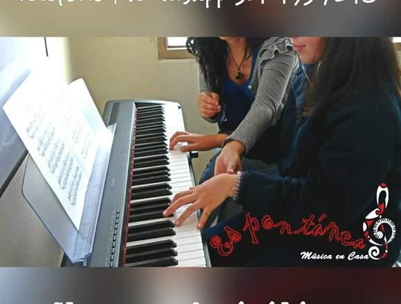 Clases de piano a domicilio - Todas las edades