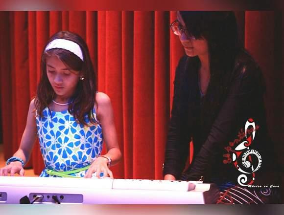 Clases musicales para niños. Aprende piano en casa