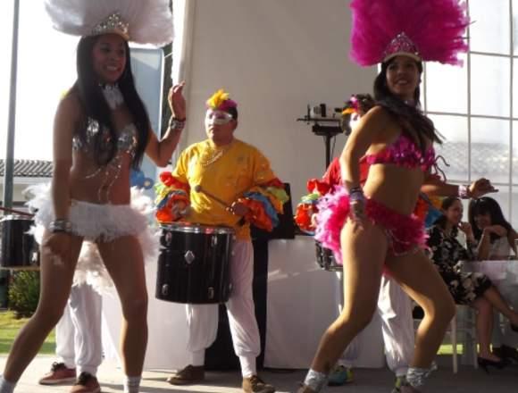 Show de Batucada: Bodas, Aniversarios, Cenas