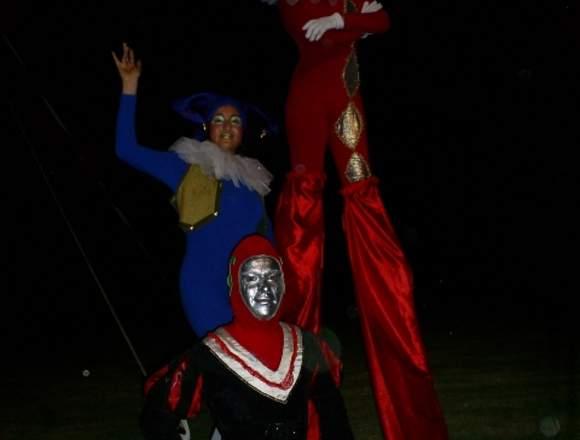 Show de Circo para ambientar fiestas