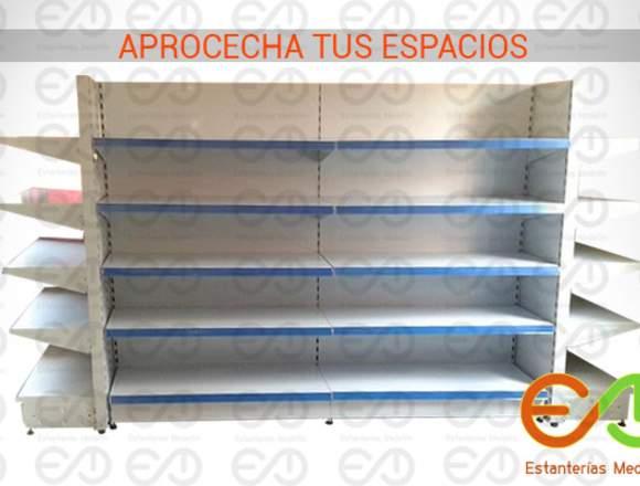 gondolas metalicas Colombia