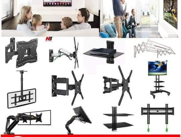 Venta e instalación soportes y bases tv medellin