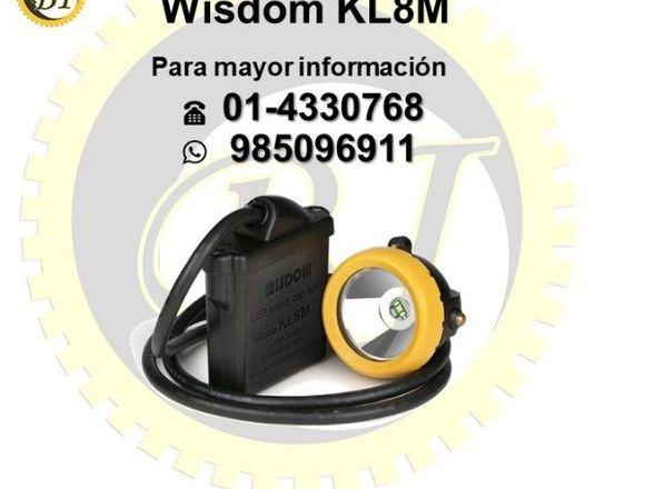 Se vende lámpara minera wisdom kl8m