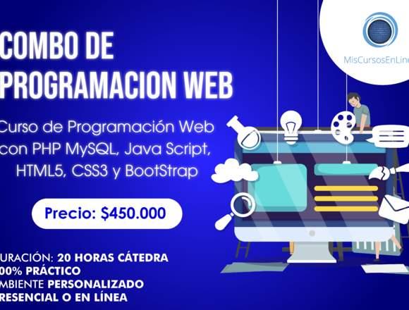 Curso  de Combo de desarrollo web