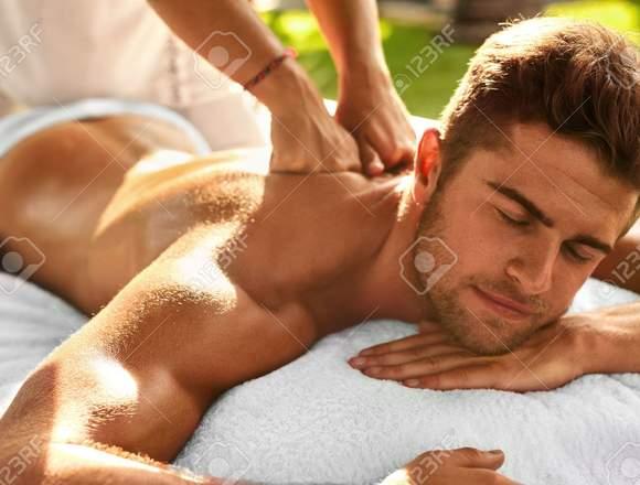 Masajes relajantes para olvidarte del estres