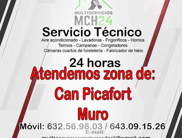 SERVICIO TÉCNICO DE AIRE/A  PORTATIL Y FANCOILS