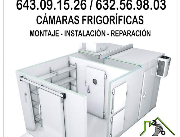 Instalación de cámaras frigorificas