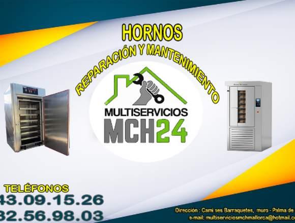 REPARACIÓN Y MANTENIMIENTO DE  HORNOS