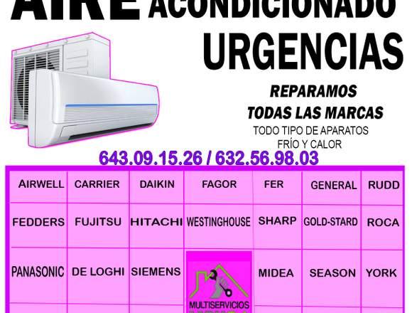TÉCNICO REPARADOR DE AIRE ACONDICIONADO
