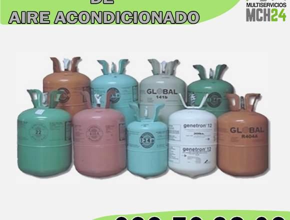 RECARGA DE GAS PARA AIRE/A
