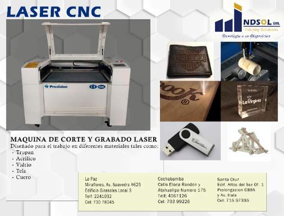 Laser de Corte y Grabado CNC