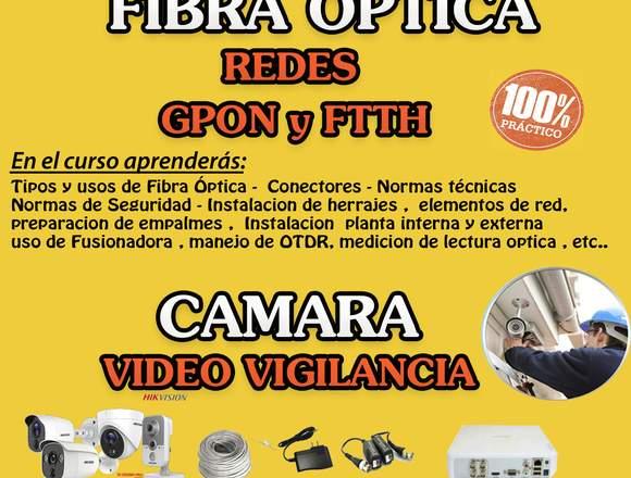 Curso de Fibra Óptica  GPON & FTTH