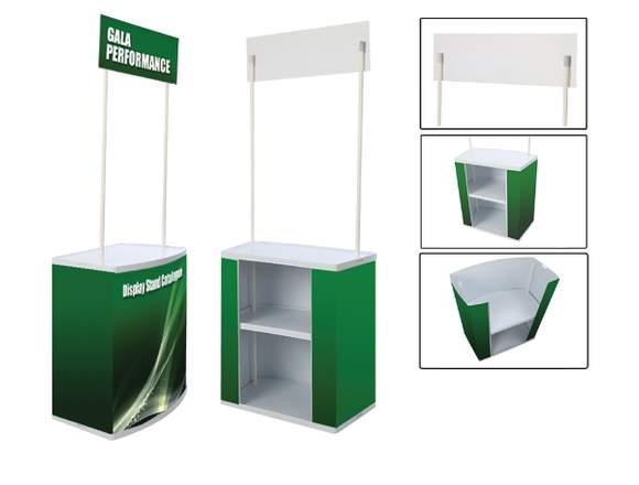 Counter promocional de PVC