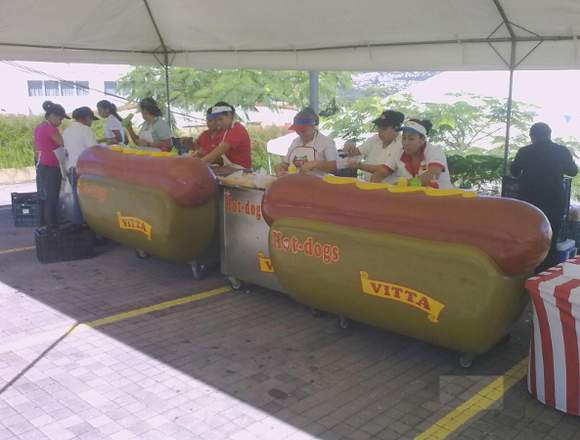 Hot dogs Vitta para tus eventos