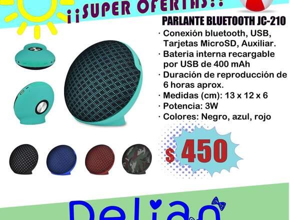 Parlante Bluetooth JC-210