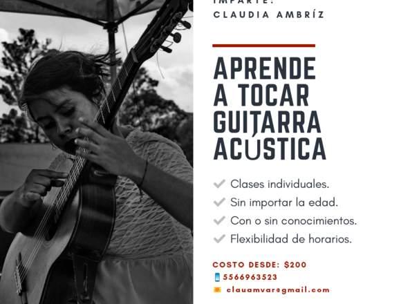 Aprende a tocar Guitarra Acústica