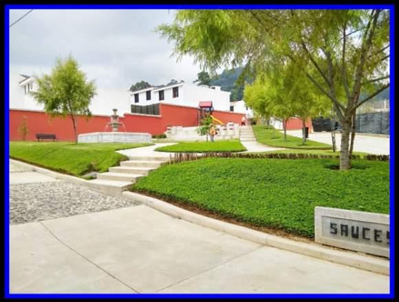 Casa en Condominio Joya Santa Lucia Milpas Altas