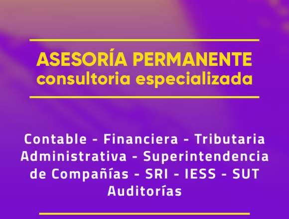 Servicios Contables - Asesoría Tributaria