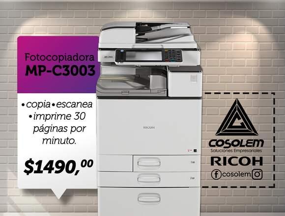 Fotocopiadora RICOH MP C3003