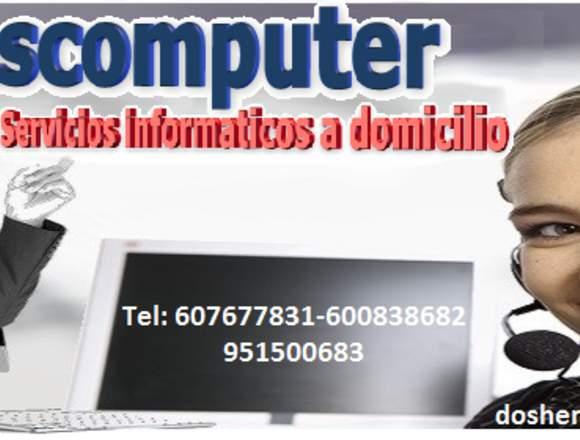 Reparacion de ordenadores  Y cuperacion datos