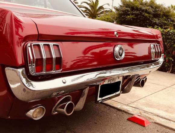 CLASICO FORD MUSTANG DEL AÑO 1965