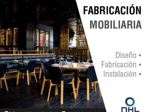 DISEÑO Y FABRICACIÓN DE MOBILIARIO - NEONHOUSELED