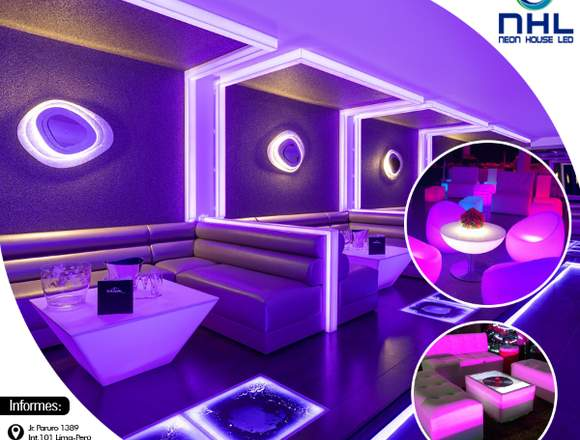 Diseño de interiores-Neon House Led