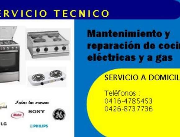 Reparacion y mantenimiento de cocinas