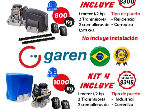 Para Puertas de garage Motor Puerta Garaje Garen