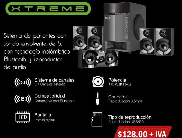 Sistema de Parlantes KLIP XTREME 0983080310