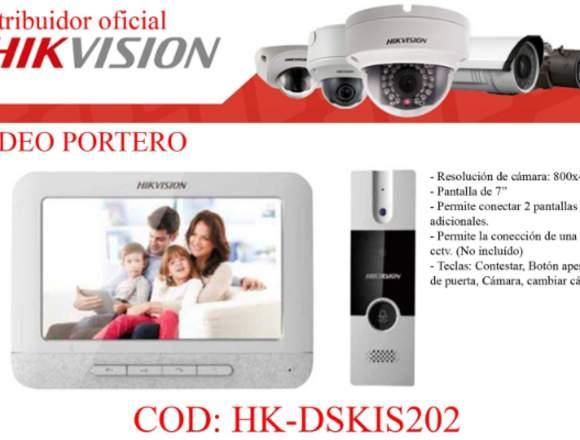 Video porteros analogos Hikvision 0983080310