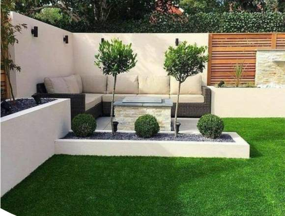 césped artificial decorativo, grass sintético