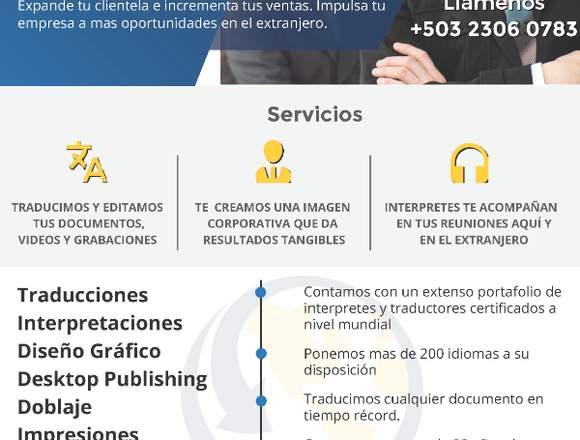 TRADUCCIONES CERTIFICADAS A MAS DE 200 IDIOMAS