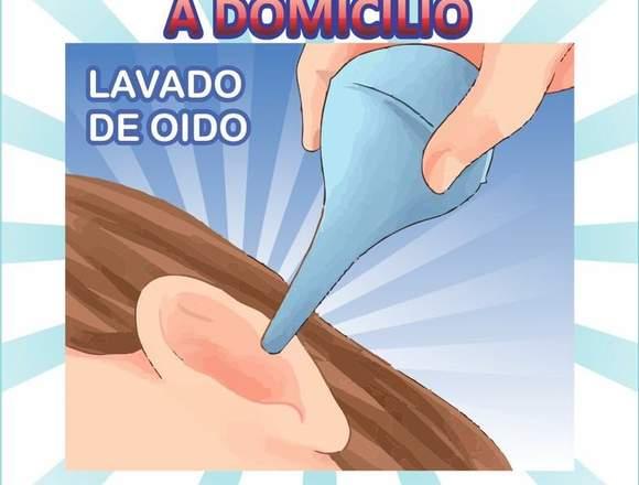 lavado y limpieza de oido