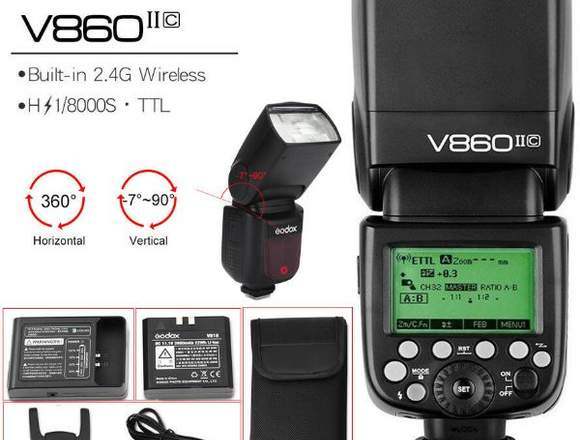 FLASH GODOX V860 II