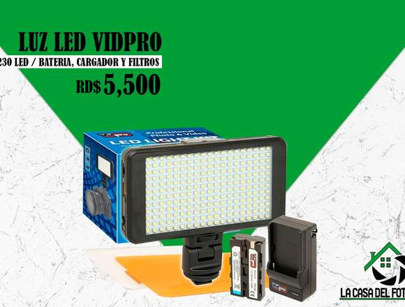 Luces Led 230 VIDPRO