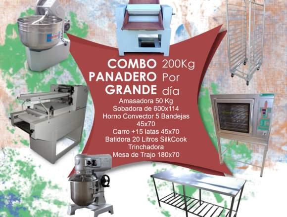 Super Pack Panadero Avanzado produce 200 kg/dia