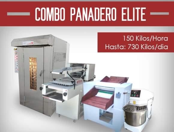 Combo Panadero Elite 730 Kilos por día