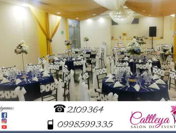Cattleya salón social y fiestas en Loja