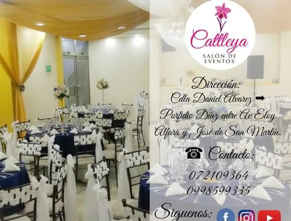 Cattleya salón para cumpleaños en Loja